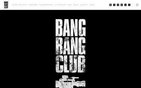 Screenshot of Home Page bangbangclub.tv - BANG BANG CLUB - captured Sept. 30, 2014
