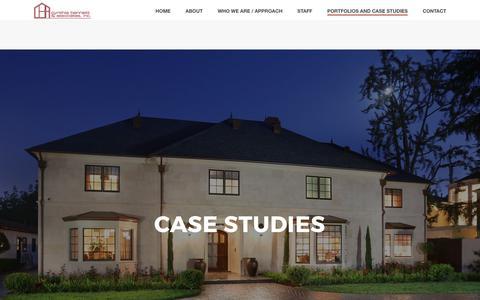 Screenshot of Case Studies Page cynthiabennett.com - Case Studies - Cynthia Bennett & Associates, Inc. - captured Sept. 19, 2017