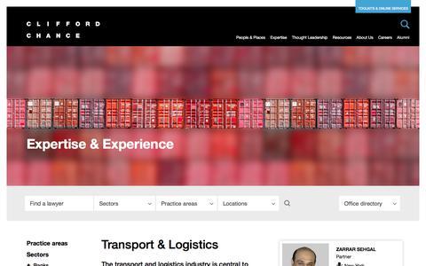 Clifford Chance | Transport & Logistics