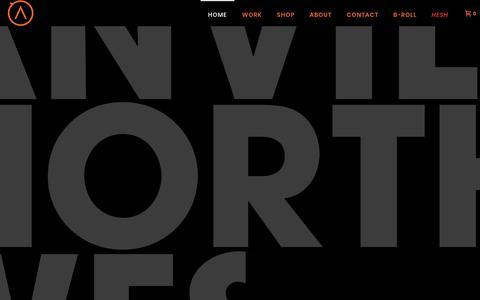Screenshot of Home Page anvilnorthwest.com - Home - Anvil Northwest - captured Dec. 9, 2018