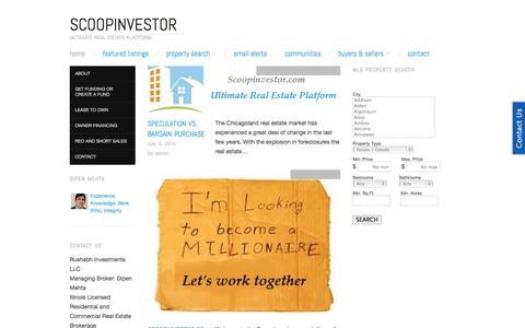 Screenshot of Home Page marketmaking.com - http://www.marketmaking.com/ - captured Oct. 6, 2014