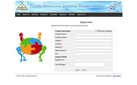 Screenshot of Support Page fdipl.com - Support | FDIPL - captured Oct. 5, 2014