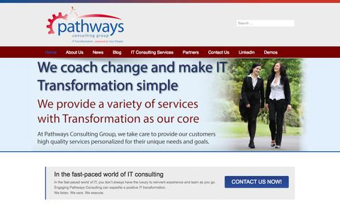 Screenshot of Home Page Terms Page pathwayscg.com - IT consulting - IT service management - IT management consulting - captured Oct. 2, 2014