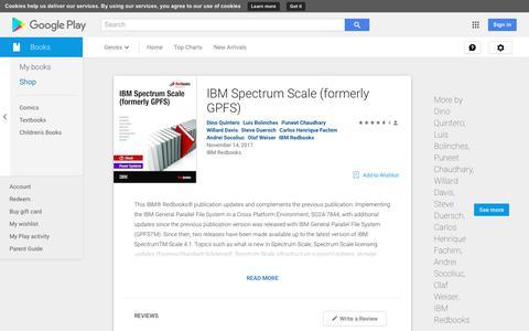 IBM Spectrum Scale (formerly GPFS) - Books on Google Play