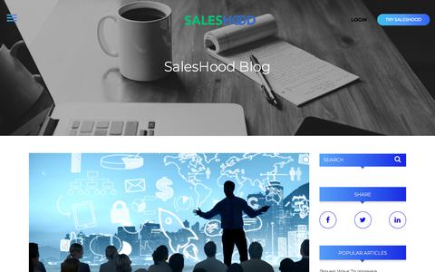 SalesHood - Blog