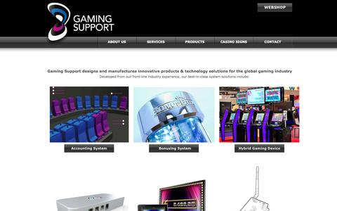 Screenshot of Products Page gamingsupport.com - Gaming Support - captured May 15, 2017