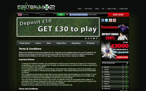 Screenshot of Terms Page football1x2.com - Football 1x2 - captured Sept. 25, 2014