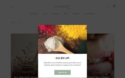 Screenshot of Blog emerginc.com - BLOG - emerginC - captured Sept. 30, 2018
