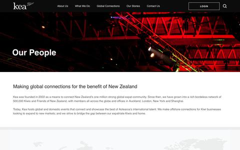 Screenshot of Team Page keanewzealand.com - Kea  |  Our People - captured Sept. 20, 2018
