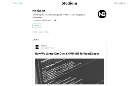 NetBeez – Medium