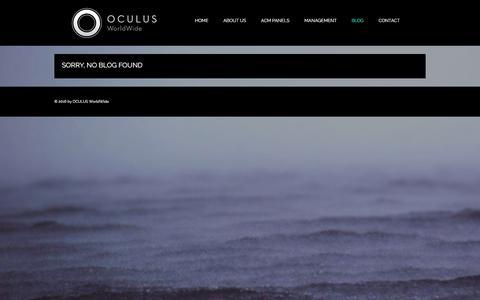Screenshot of Blog oc-ww.com - Blog | OCULUS - captured Feb. 15, 2016