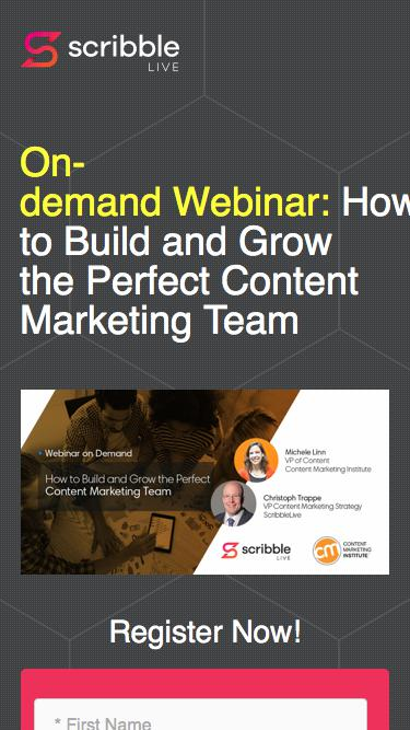How to Build and Grow the Perfect Content Marketing Team