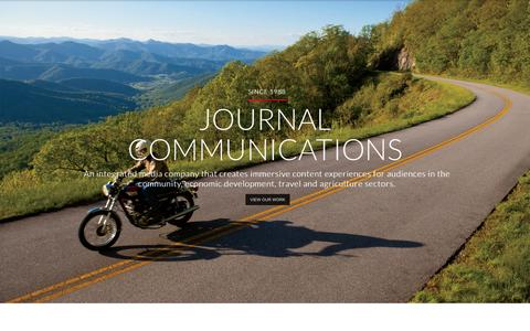Screenshot of Testimonials Page jnlcom.com - Journal Communications - An Integrated Media Company Since 1988 - captured Nov. 3, 2014