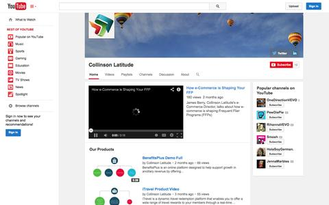 Screenshot of YouTube Page youtube.com - Collinson Latitude  - YouTube - captured Oct. 22, 2014