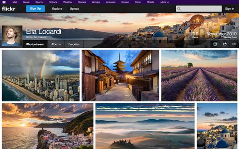 Screenshot of Flickr Page flickr.com - Flickr: blame_the_monkey's Photostream - captured Oct. 23, 2014