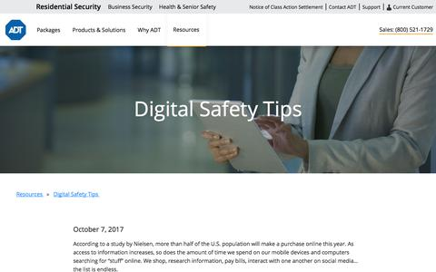 Digital Information Safety Tips | Protect Your Identity and Personal Information