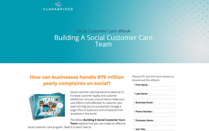 eBook: Building A Social Customer Care Team
