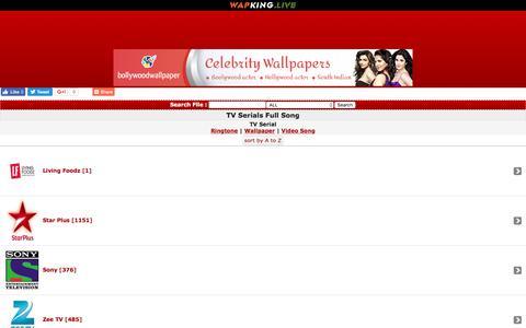Screenshot of wapking.live - WapKing.live :: TV Serials Full Song :