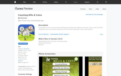 Counting Bills & Coins on the App Store