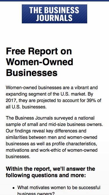 SMB Insights report on women-owned businesses