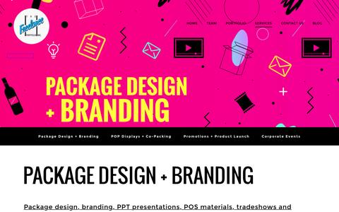 Screenshot of Services Page freelanceportfolio.com - Services - The Freelance Portfolio Inc. - captured Dec. 16, 2016