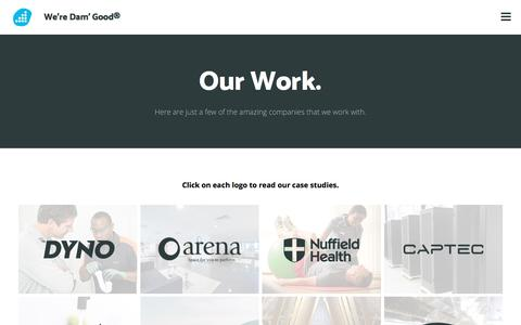 Our Work. - Web Design Fareham | SEO Hampshire | Digital Marketing Agency