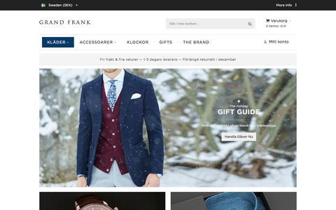 Grand Frank Sweden
