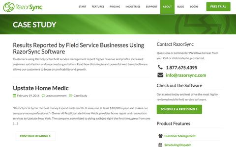 Case Study Archives - RazorSync | Field Service Software & Mobile App