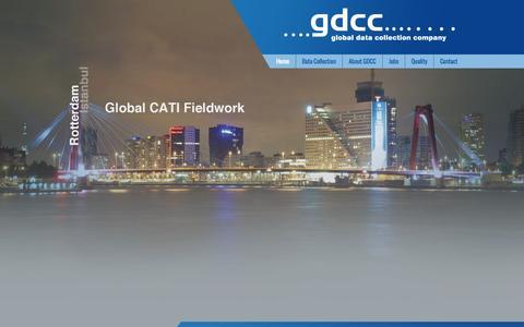 Screenshot of Home Page gdcc.com - Home - captured Oct. 1, 2014