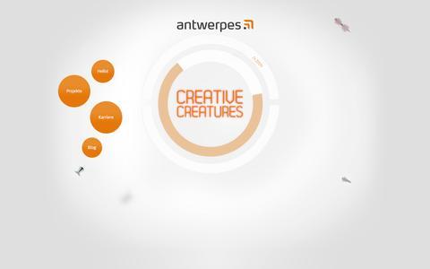 Screenshot of Home Page antwerpes.de - Startseite - antwerpes ag - captured Nov. 18, 2016
