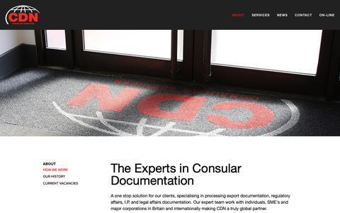 Screenshot of Home Page cdn-consular.co.uk - CDN - captured Oct. 22, 2018
