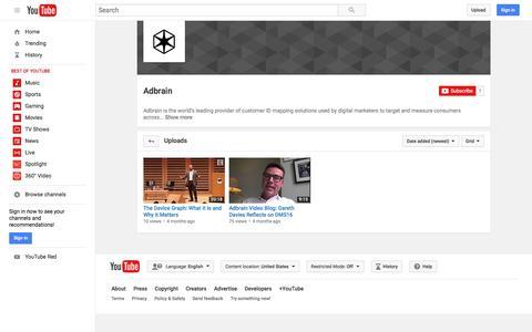Adbrain  - YouTube