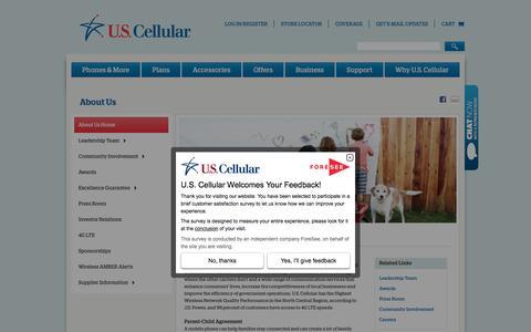 U.S. Cellular Corporation | About Us | Company Info | U.S. Cellular