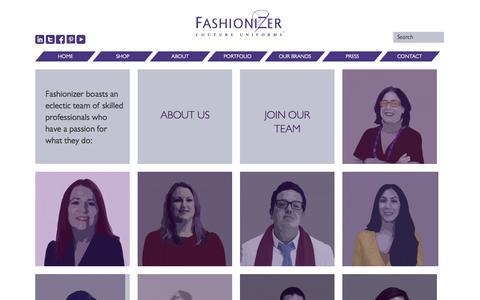 Screenshot of Team Page fashionizer.com - Members Archive » Fashionizer - captured Sept. 30, 2014