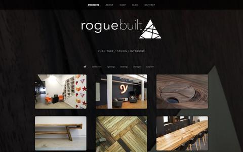 Screenshot of Home Page roguebuilt.co - roguebuilt - captured Sept. 30, 2014