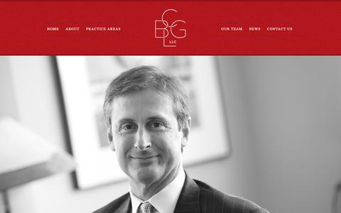 Screenshot of Home Page bcgl-law.com - BCGL Law | Attorneys in Lancaster, PA - captured Oct. 6, 2018