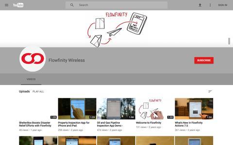 Flowfinity Wireless - YouTube