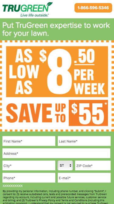 TruGreen. Go Greener. | Save up to $55