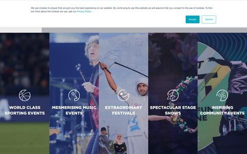 Screenshot of Services Page thinkflash.ae - Services - FLASH Entertainment - captured Nov. 24, 2018