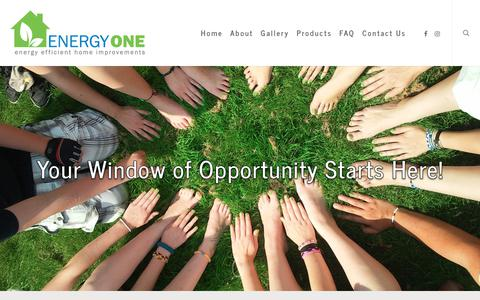 Screenshot of Jobs Page energyonewindows.com - Careers | Energy One - captured July 19, 2018