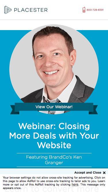 Real Estate Websites Lead Conversion - Placester Webinar