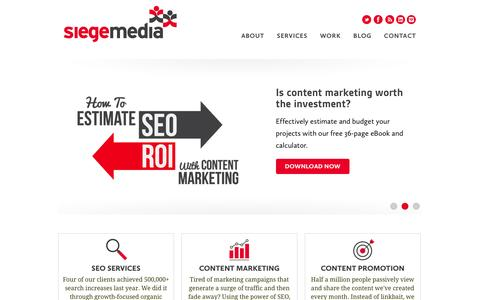 Content Marketing Agency | Siege Media