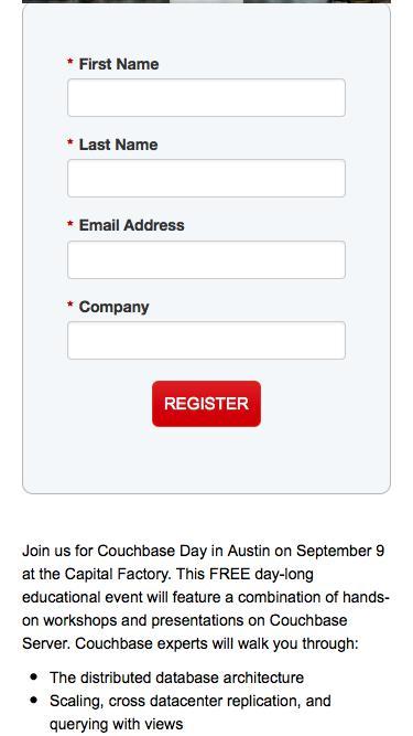 Couchbase Day Austin