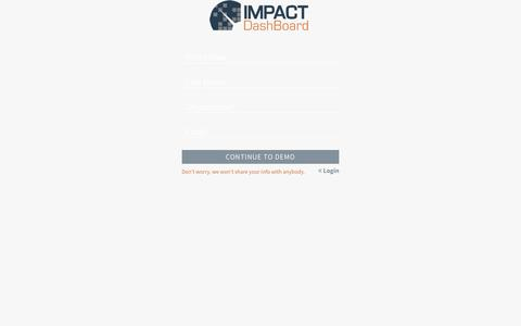 Impact DashBoard
