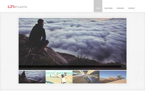 Screenshot of Home Page ltiatlanta.com - LTI ATLANTA | - captured July 17, 2015