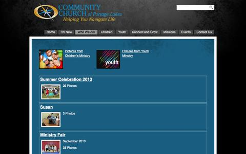 Screenshot of Press Page ccofpl.org - Media «  Community Church of Portage Lakes - captured Oct. 8, 2014