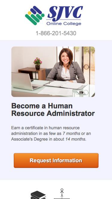 Become a Human Resource Administrator   SJVC