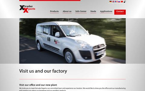Screenshot of Maps & Directions Page extruder-experts.com - Anfahrt - Extruder Experts GmbH & Co. KG - captured May 23, 2017