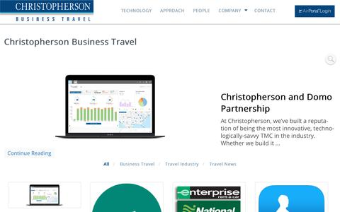 Christopherson Business Travel | Christopherson Business Travel