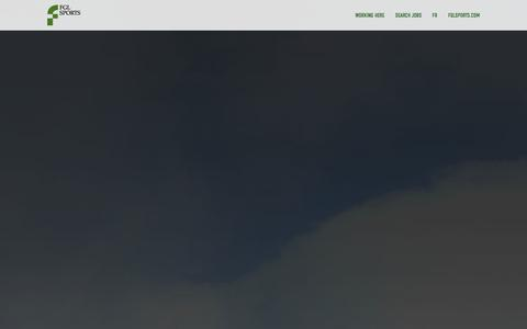 Screenshot of Home Page fglsportsjobs.com - Home - FGL Sports - captured Oct. 5, 2014